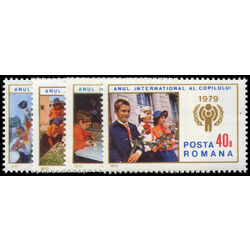 romania stamp 2834 7 international year of the child 1979