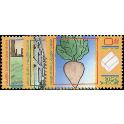 belgium stamp 2000 2 sugar industry 2004