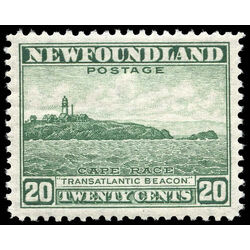 newfoundland stamp 263 cape race 20 1944