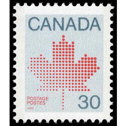 canada stamp 923b maple leaf 30 1982