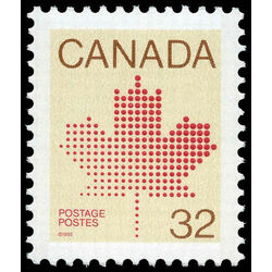 canada stamp 924 maple leaf 32 1983