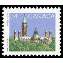 canada stamp 925 parliament buildings 34 1985