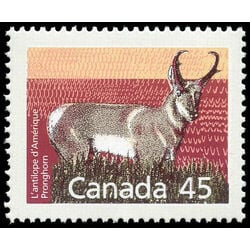 canada stamp 1172 pronghorn 45 1990