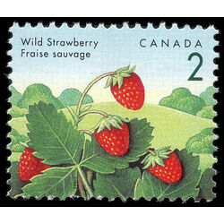 canada stamp 1350 wild strawberry 2 1992