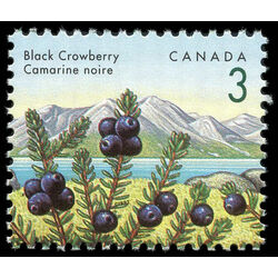 canada stamp 1351 black crowberry 3 1992