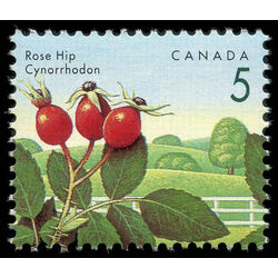 canada stamp 1352 rose hip 5 1992