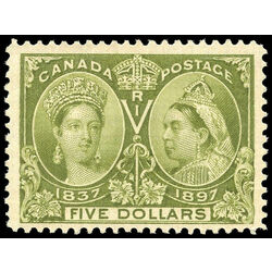 canada stamp 65 queen victoria jubilee 5 1897 m vf 019