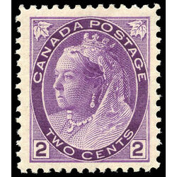 canada stamp 76 queen victoria 2 1898 m vfnh 003