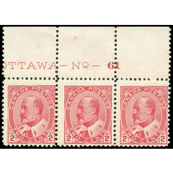 canada stamp 90 edward vii 2 1903 ps fnh 010