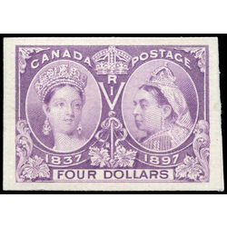 canada stamp 64p queen victoria jubilee 4 1897 m vf 001