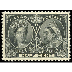 canada stamp 50 queen victoria jubilee 1897 m vfnh 005
