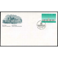 canada stamp 1183 bonsecours market montreal qc 5 1990 fdc 002