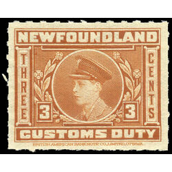 canada revenue stamp nfc2 revenue edward viii prince of wales 3 1925