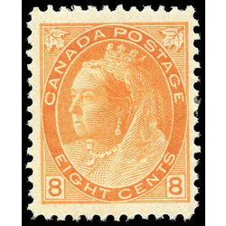 canada stamp 82 queen victoria 8 1898 m vf 014