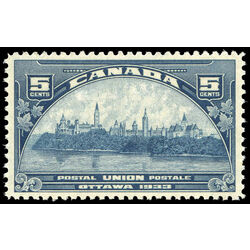 canada stamp 202 parliament buildings 5 1933