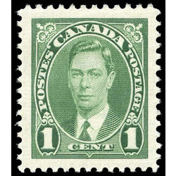 canada stamp 231 king george vi 1 1937