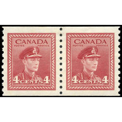 canada stamp 281pa king george vi 1948