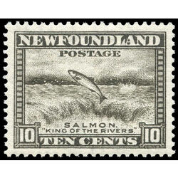 newfoundland stamp 193 salmon leaping 10 1932