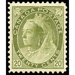 canada stamp 84 queen victoria 20 1900 m vf 011