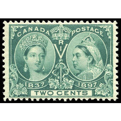 canada stamp 52 queen victoria jubilee 2 1897 m vfnh 002