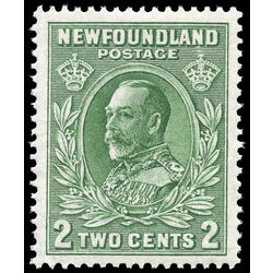 newfoundland stamp 186ii king george v 2 1932
