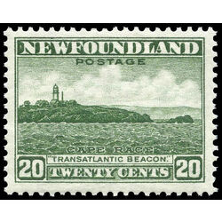 newfoundland stamp 196 cape race 20 1932