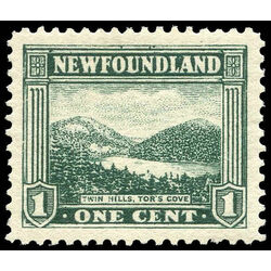 newfoundland stamp 131 twin hills tor s cove 1 1923