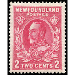 newfoundland stamp 185 king george v 2 1932