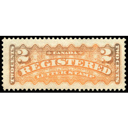 canada stamp f registration f1 registered stamp 2 1875 m vfnh 011