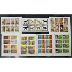collection of cinderella stamps