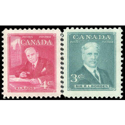 canada stamp 303 4 prime ministers 1951