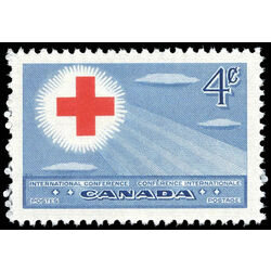 canada stamp 317 red cross symbol 4 1952