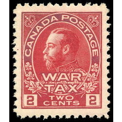 canada stamp mr war tax mr2 war tax 2 1915 m xfnh 002