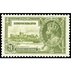 newfoundland stamp 229 windsor castle king george v 24 1935