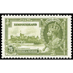 newfoundland stamp 229a windsor castle king george v 24 1935