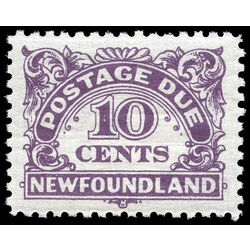 newfoundland stamp j7 postage due stamps 10 1949