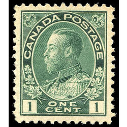 canada stamp 104b king george v 1 1911