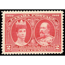 canada stamp 98i king edward vii queen alexandra 2 1908 m vfnh 003