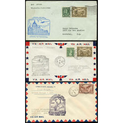 canada first flight covers of 1931 1938