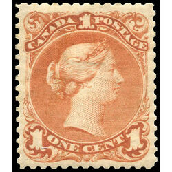 canada stamp 22 queen victoria 1 1868 m vf 009