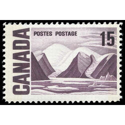 canada stamp 463p bylot island by lawren harris 15 1969