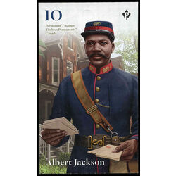 canada stamp 3165a albert jackson delivering mail 2019
