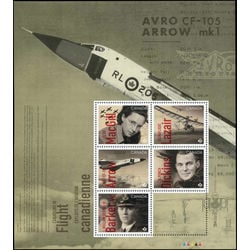 canada stamp 3171 canadians in flight 4 50 2019