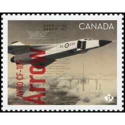 canada stamp 3171c avro cf 105 arrow 2019