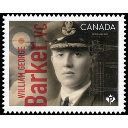 canada stamp 3173i william george barker vc 1894 1930 2019