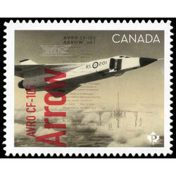 canada stamp 3175i avro cf 105 arrow 2019