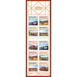 canada stamp 3185a historic covered bridges 2019