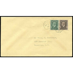 canada stamp 195 king george v 1 1932 fdc 007