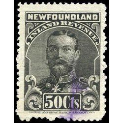 canada revenue stamp nfr19 king george v 50 1910