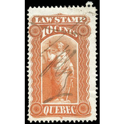 canada revenue stamp ql15 law stamps 10 1871